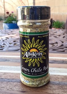 Green Chile Rub 6oz Bottle