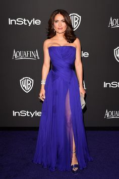 2015 InStyle And Warner Bros. 72nd Annual Golden Globe Awards Post-Party - Salma Hayek
