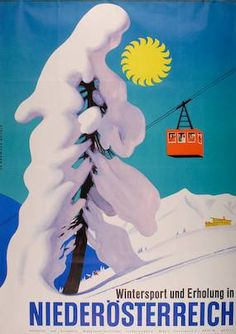Winter Sport And Relaxation In Lower Austria Austria / 1962 / Ski Posters / Austrian Ski Resorts, Vintage Ski Posters, Harry Potter Poster, Tourism Poster, Ski Holidays, Beautiful Posters, Christmas Scenes, Blog Design, Winter Travel