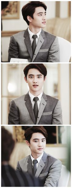 D.O no yoU ARE SO CUTE AND SQUISHY LET ME LOVE YOU FOREVER!! (´∀`; )