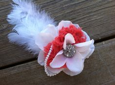 Fancy clip by CraftyMamaHairBows on Etsy, $3.00
