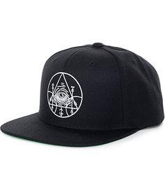ed761acfb6dc8 Black Scale Dooms of Malentay Black Snapback Hat
