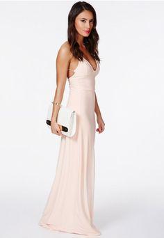 Karinka Slinky Strappy Maxi Dress - Dresses - Skater Dresses - Missguided