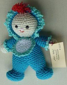 Amigurumi Crochet pattern little baby ~ Free pattern