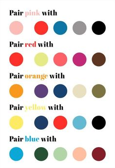 Step Out of Your Color Comfort Zone with These 5 Essential Tips (Plus Our Handy Color Cheat Sheet!)