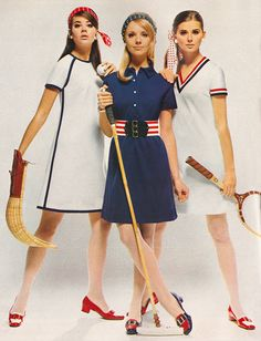 Colleen Corby in Gay Gibson. I had the dress on the right in Orange with Navy and Yellow trim. Colleen Corby, Cay Sanderson and Regine Jaffrey. 60s And 70s Fashion, Mod Fashion, Teen Fashion, Fashion Models, Vintage Fashion, Vintage Outfits, Vintage Dresses, 1960s Dresses, Colleen Corby