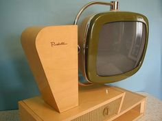 Predicta television.  Still the best TV set ever designed!  It's just a perfect example of Industrial Design.  Pure art.