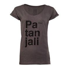 PATANJALI #yoga t-shirt Anthracite via http://www.yuj.fr