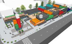 В Днепре открылся первый торговый комплекс из контейнеров «Кубометр» — retail-community.com.ua