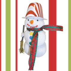 Κατασκευή Χιονάνθρωπος από Ρύζι Xmas, Christmas Ornaments, Holiday Decor, Outdoor Decor, Blog, Home Decor, Winter, Winter Time, Decoration Home