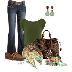 """""""Autumn Outing"""" by shuchiu on Polyvore"""