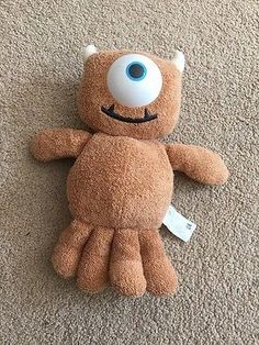 """Disney Monsters Inc Little Mikey Boo Teddy Plush Soft Toy Approx 8"""". in Toys & Games, TV & Film Character Toys, Film & Disney Characters 