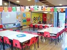 This is a really neat classroom set up it looks really fun