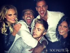William Levy & Jaleel White Hang Out With The 'DWTS' Crew