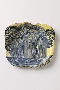 Highveld Thunderstorm Plate by Ruan Hoffmann