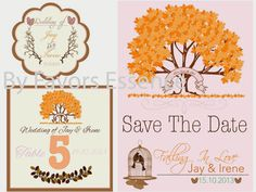 Fall Stationary design by Favors Essence