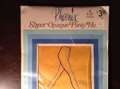 Vintage pantyhose nylons. FREE SHIPPING by Mamaphias on Etsy, $14.00