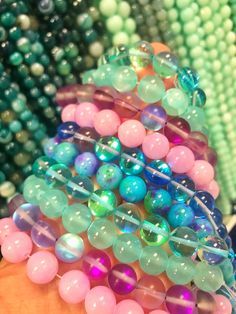 *HUGE BEADS SALE!!...50% OFF!...Now 75p!!* 30Pcs TURQUOISE Chunky FOCAL Beads for Jewellery Making Arts & Crafts Beads & Beadwork