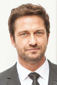 HQ NYC Fashion Week - Gerard Butler attends Hugo Boss Woman Event 02/12/14