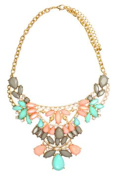Spring Statement NecklaceSpring Statement Necklace - uoionline.com: Women's Clothing Boutique