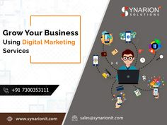 Improve Your Website Rank with Digital Marketing Services at Synarion IT Solutions. We deliver the best digital marketing services for you. Online Digital Marketing, Website Ranking, Growing Your Business, Improve Yourself