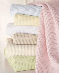 Shop King Waffleweave Blanket, x from SFERRA at Horchow, where you'll find new lower shipping on hundreds of home furnishings and gifts. Modern Colors, Soft Colors, Pastel Colors, Pastel Decor, Home Decor Sale, Luxury Home Decor, Pink Sale, Pastel Shades, Cool Beds