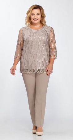 Collection of clothes for obese women of Belarus - Clothing World Plus Size Formal Dresses, Evening Dresses Plus Size, Look Fashion, Girl Fashion, Womens Fashion, Mother Of The Bride Suits, Dress Outfits, Fashion Dresses, Obese Women