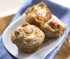 Oat Peaches And Cream Muffins