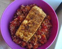Vegan Salsa Beans and Rice - egg, nut, dairy, and gluten free!