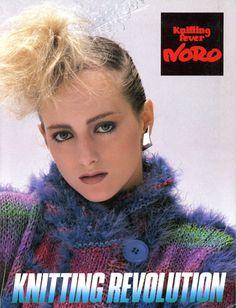 Rare Early 1980s Noro: Knitting Revolution  Knitting by brokemarys