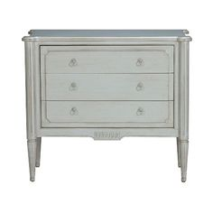 Ethan Allen Julian Chest in robin's egg blue... love this for a hallway