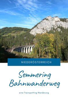 Eine Trainspotting Wanderung auf 21 Kilometern rund um Viadukte, pfeifende Züge und herrlichen Ausblicken. Streckenbeschreibung und Tipps für den Bahnwanderweg zwischen Semmering und Payerbach. #SemmeringWandern #ÖsterreichSchönsteOrte #ÖsterreichUrlaub #ÖsterreichWandern #ÖsterreichUrlaubSommer #NiederösterreichAusflug #Niederösterreich #ÖsterreichAusflugsziele #AusflügeÖsterreich #AusflugszieleinÖsterreich #Semmeringwandern #Semmeringbahn #WanderninNiederösterreich #WandertippsÖsterreich London, Desktop Screenshot, Mountains, Nature, Travel, Day Trips, Road Trip Destinations, Beautiful Places, Round Round