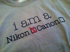 Nikon, baby!