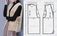 Amazing Sewing Patterns Clone Your Clothes Ideas. Enchanting Sewing Patterns Clone Your Clothes Ideas. Coat Patterns, Sewing Patterns Free, Free Sewing, Clothing Patterns, Diy Sewing Projects, Sewing Hacks, Sewing Tutorials, Sewing Blouses, Sewing Coat