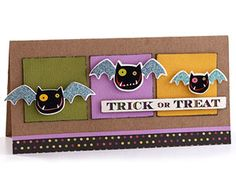 Use Nontraditional Color Schemes for Halloween Cards