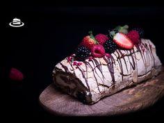 Pavlova, Something Sweet, Meringue, Christmas Recipes, Berry, Desserts, Youtube, Food, Merengue