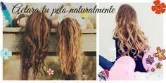 Como aclarar el pelo naturalmente