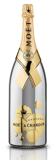 Stylish Champagne Bottle