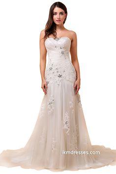 http://www.ikmdresses.com/Strapless-Chapel-Train-Bridal-Gowns-Wedding-Dresses-p88045