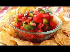 Easy Watermelon Firece Salsa Recipe