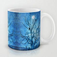 Raven's shelter II Mug by Viviana González - $15.00