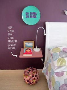 Decorviva! - Inspiração no tom da decoração.: Quatro mesinhas pra chamar de minhas!
