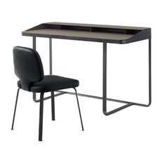 Shop the Twain Desk and more contemporary furniture designs by Frag Furniture at Haute Living. Dinning Table, Table Desk, Table Furniture, Office Furniture, Furniture Design, Space Saving Table, Writing Table, Storage Design, Square Tables