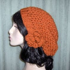 i want to figure out how to crochet this THEN how to make it stay on my head :)