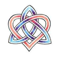 celtic sisters knot symbol celtic