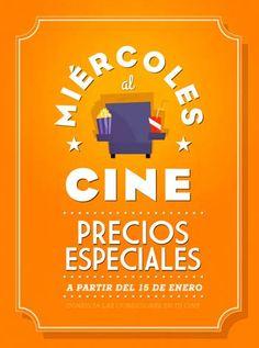 De los creadores de la Fiesta del Cine llegan los Miércoles al Cine.
