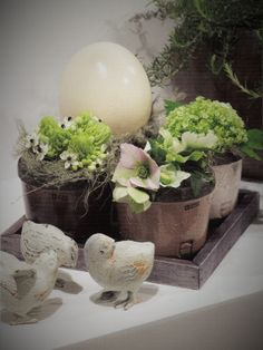 Easter flower arrangement | Uploaded by René Billen