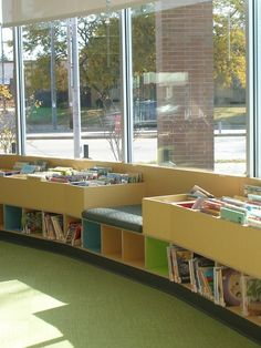 Picture Book Shelving in Children's Area by madisonpubliclibrary, via Flickr