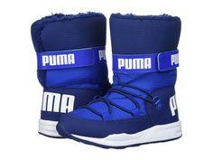 61edbbd39d3 Puma Kids Trinomic Boot (Little Kid Big Kid) Boys Shoes Lapis Blue
