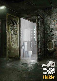 Klopapier-Werbung mit Stil und Witz – von Leo Burnett/Laeufer Berlin für Hakle #Werbung